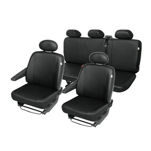FORD Custom imitation leather seat covers seat cover set 5 seaters robust and easy-care
