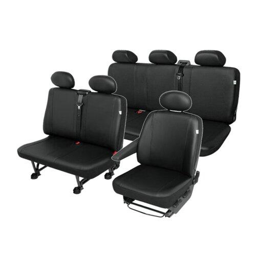Peugeot Expert 6-Sitzer Sitzbezüge Sitzschoner aus pflege leichter Kunstleder