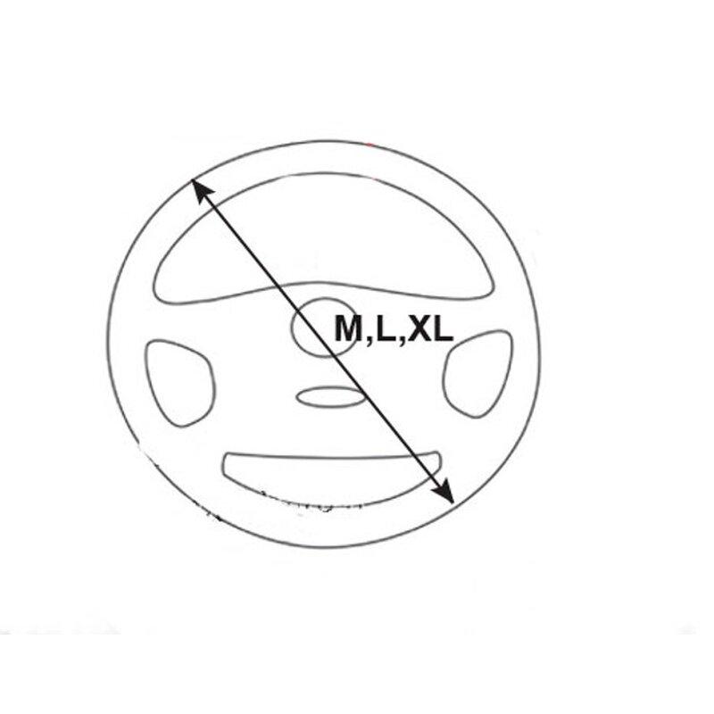 Einfach  Durchmesser und Umfang des Lenkrades